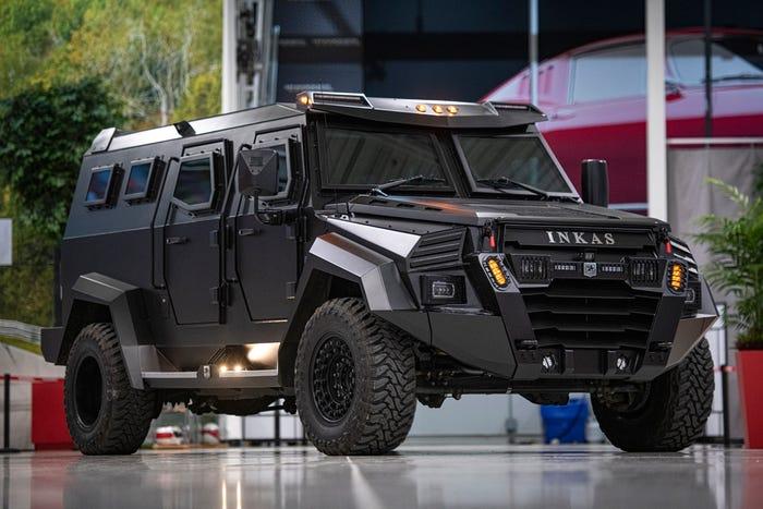 الكشف عن سيارة عسكرية مصفحة سعرها 1.3 مليون ريال للاستخدام الشخصي!