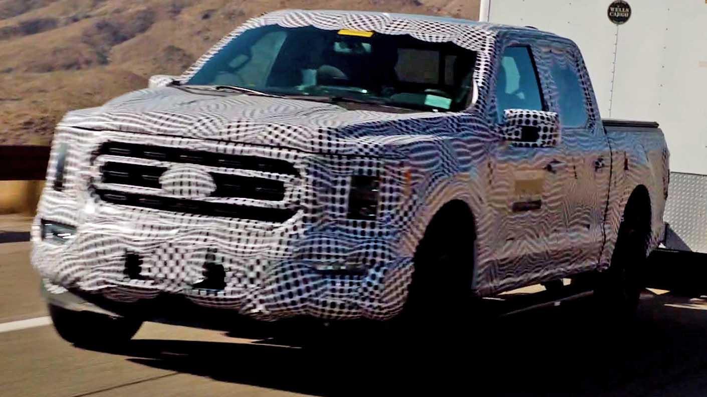 فورد أف 150 باوربوست هايبرد 2021 الجديدة بالكامل – شاحنة المهمات بالقدرة الهجينة