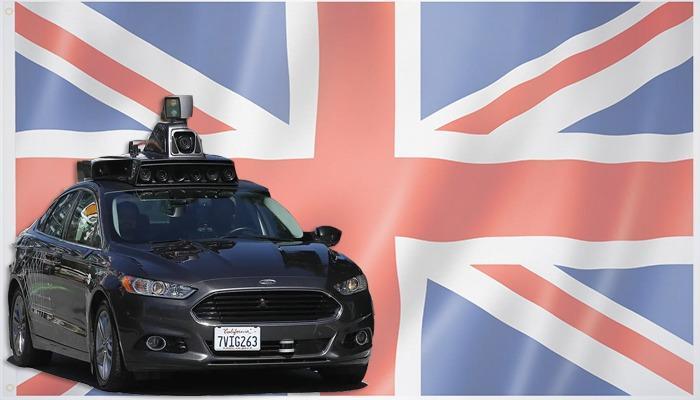 قرار بريطاني بشأن السيارات ذاتية القيادة