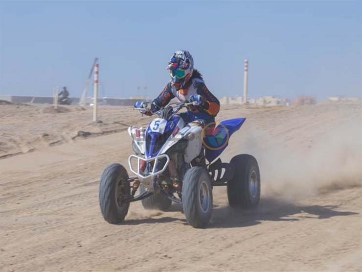 جولتان لفئة Quad رباعية العجلات من سباق الدراجات النارية بالجونة الدولية للموتوكروس