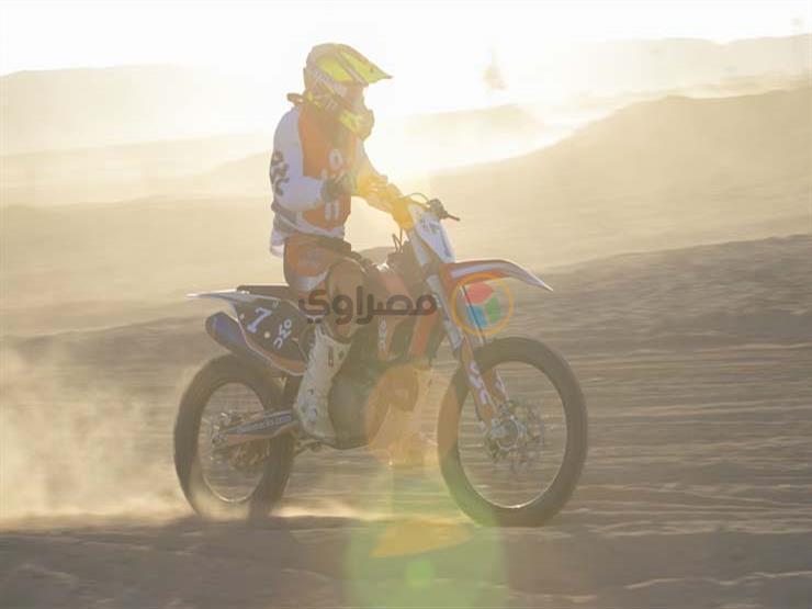 ختام اليوم الأول من بطولة الجونة للموتوكروس بتصدر حسين جاك