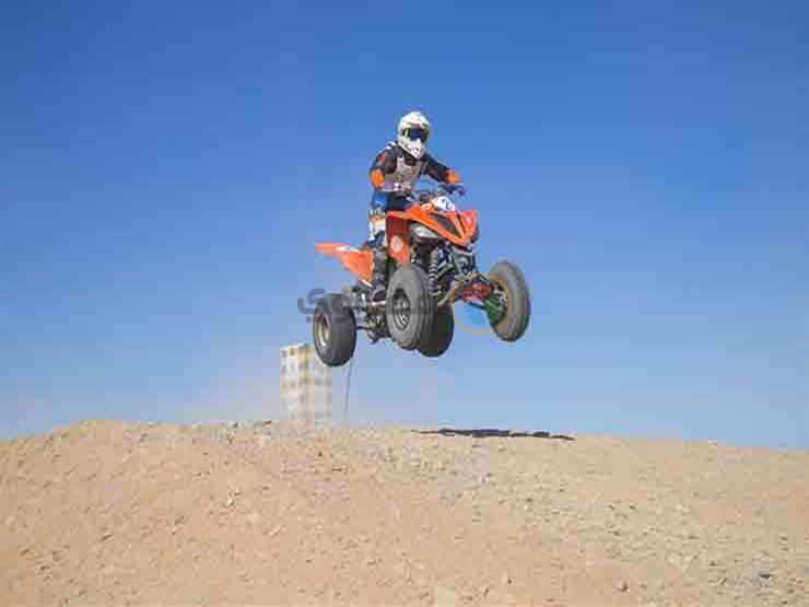 جو حفني يتوج بسباق ATV ببطولة الجونة الدولية للموتوكروس