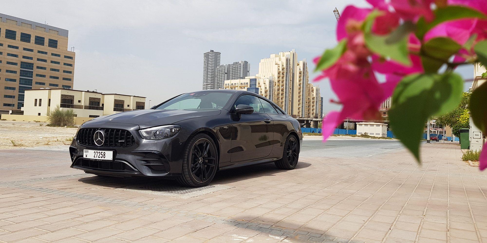 سيارة مرسيدس أي أم جي E53 لعام 2021 الكوبيه