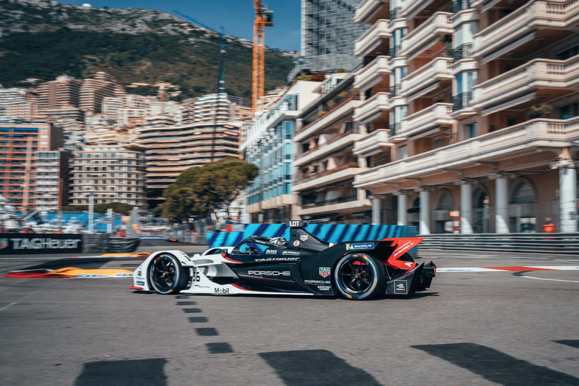 بداية غير موفقة لفريق تاغ هوير بورش فورمولا إي في موناكو