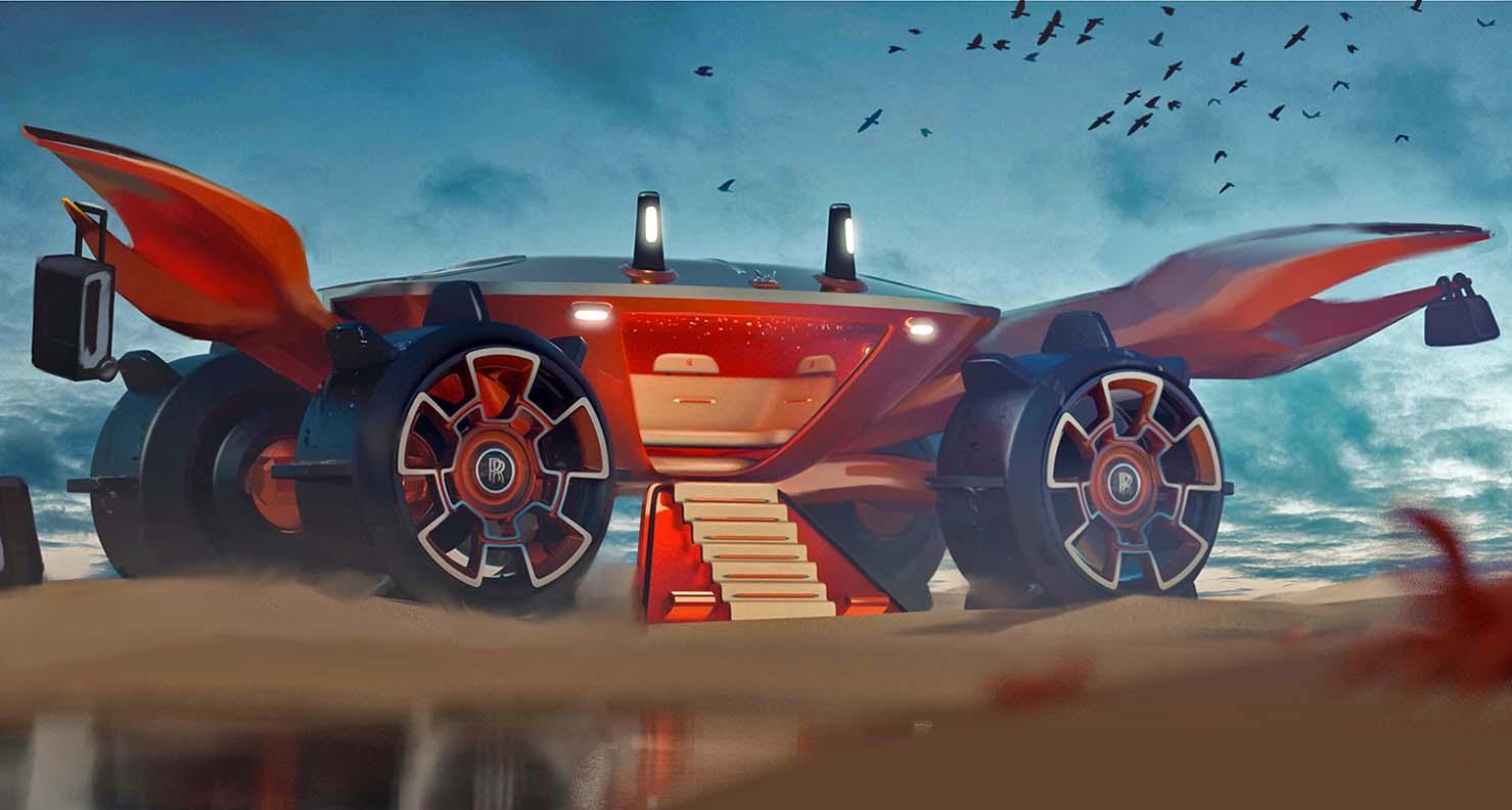 رولز-رويس لبنان تدعو المصمّمين الصغار إلى ابتكار سيارة أحلامهم