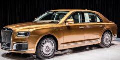 """سيارة """"آوروس"""" الروسية في أسواق الشرق الأوسط.. ماذا قال عنها بوتين؟"""