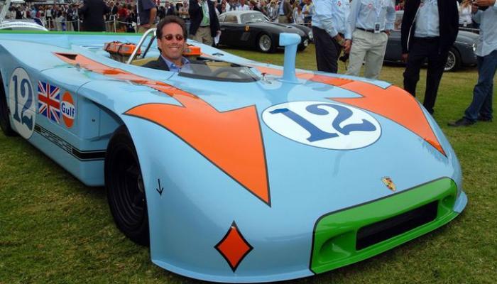 أسطول سيارات استثنائي لنجم هوليوود جيري ساينفيلد