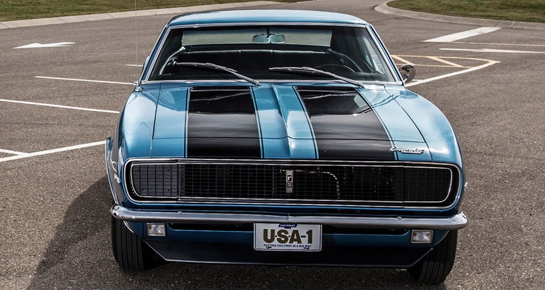 شيفروليه كامارو زد28 1967 – سيارة العضلات الأيقونية