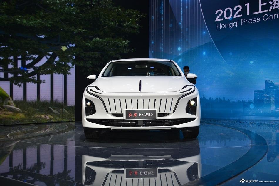 هونغ تشي E-QM5 الجديدة سيدان كهربائية كبيرة