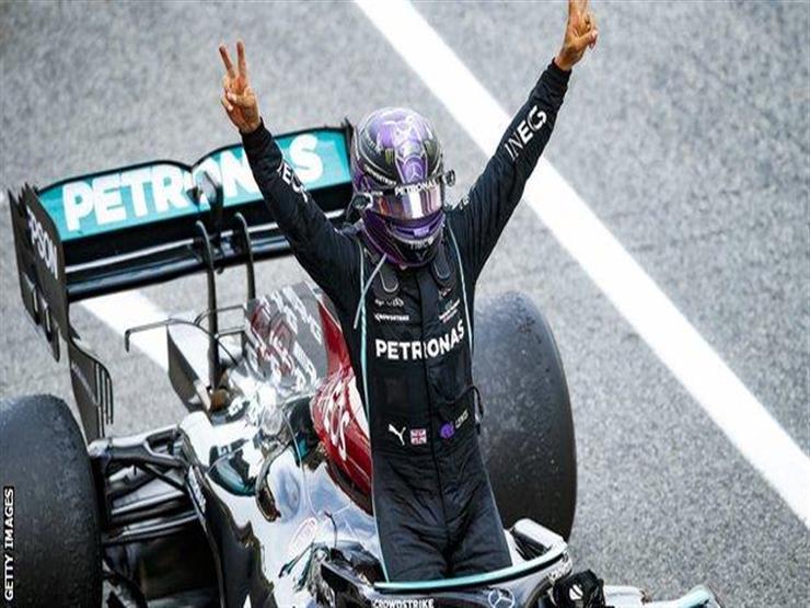 بعد فوزه ب فورمولا-1 الإسباني هاميلتون يتطلع لحسم مستقبله مع فريقه مرسيدس