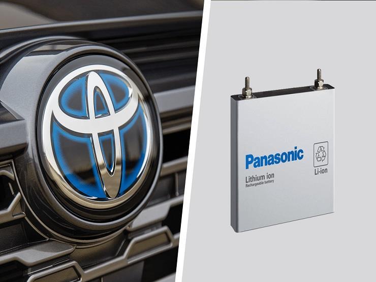 """مشروع """"تويوتا باناسونيك"""" يزيد إنتاج بطاريات السيارات الكهربائيه"""