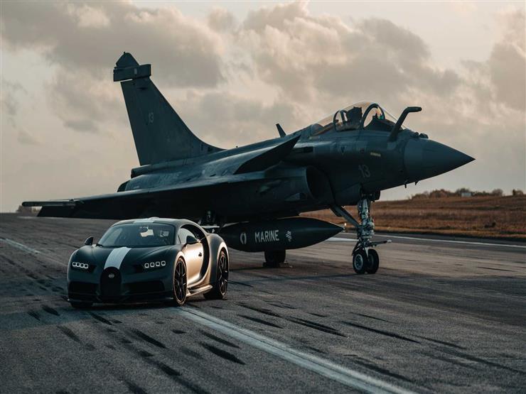سباق خارج التوقعات.. بوجاتي تشيرون تتغلب على طائرة رافال الم