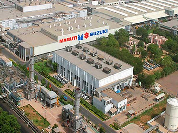ماروتي سوزوكي الأكبر في الهند للسيارات تمدد إغلاق مصانعها