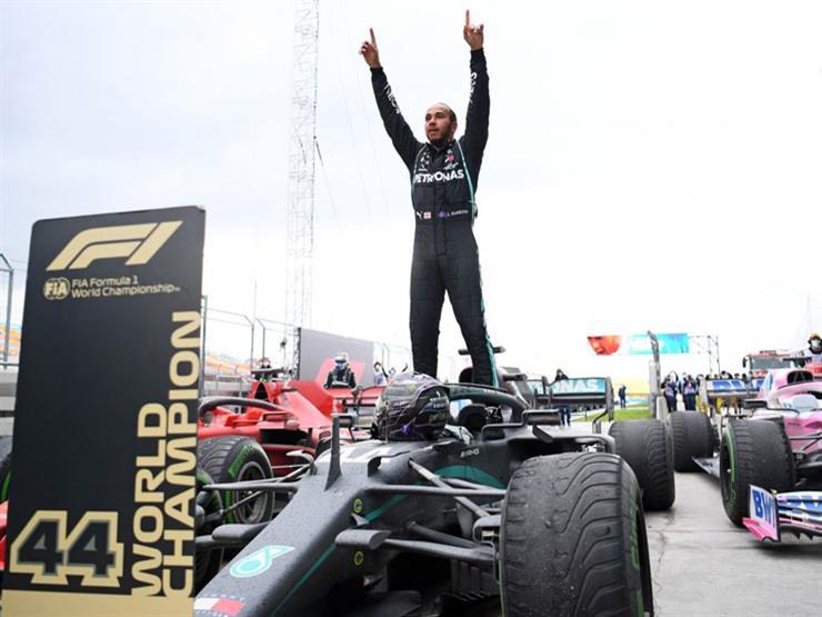 هاميلتون يقتنص مركز الانطلاق الأول للمرة رقم 100 في فورمولا-1