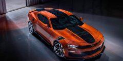 أول صورة لسيارة شيفروليه كامارو 2022 باللون البرتق…