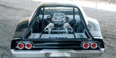 قلعة السيارات – شاهد دودج تشارجر 1968 معدلة بمحرك وسطي 707 حصان