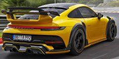 بورش 911 توربو جي تي ستريت آر 2022 – أجمل وأسرع السيارات المعدّلة من تيك أرت