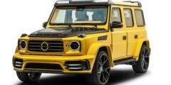 مرسيدس آي أم جي جي 63 مانصوري غرونوس 2021 – النسخة الصفراء المميزة والعالية الأداء