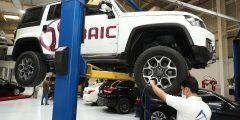 مركز الخدمات أوتوسنترال في الامارات يوقع اتفاقية مع مجموعة بايك الصينية للسيارات