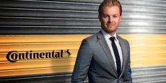 تعاون جديد بين شركة كونتيننتال للاطارات وبطل العالم للفورمولا 1 نيكو روزبيرغ