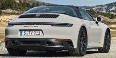 بورش 911 جي تي أس تارغا 2022 الجديدة بالكامل – الطراز الأقوى من السيارة الرياضية المكشوفة المتفرّدة