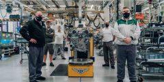 محرّك W12 لسيارة Bacalar الأولى للعملاء يكمل الاخت…