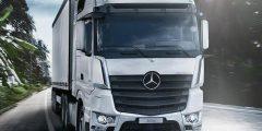 مرسيدس تستعد إزاحة الستار عن أول شاحنة كهربائية من إنتاجها