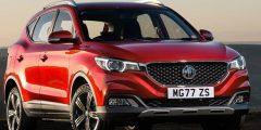 إم جي ZS موديل 2021 ثاني السيارات الصينية الأكثر مبيعًا في م