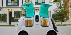 تطوير سيارة ذاتية القيادة لتوصيل البيتزا إلى المنازل في تكسا