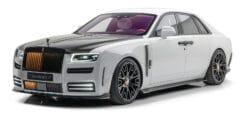 قلعة السيارات – رولزرويس جوست 2021 تحصل على تعديلات مانسوري