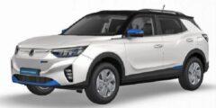 سانج يونج تطلق سيارتها Korando e-Motion الكهربائية