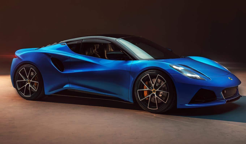 لوتس إميرا 2022 الجديدة بالكامل – السيارة الرياضية المميزة بخيارين: محرك آي أم جي أو محرك تو