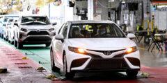 تويوتا تصنع السيارة رقم 10 مليون من كامري في أميرك…