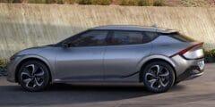 """كيا إي في6 – أول سيارة كورية في التاريخ تحصل على مصادقة البصمة الكربونية للمنتجات من """"كربون تراست"""""""