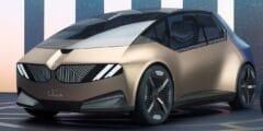 بي أم دبليو أي فيجن سيركولار النموذجية – سيارة المدينة لعام 2040 المعاد تدويرها بالكامل