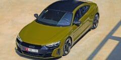 منطقة الشرق الأوسط ترحب بأقوى سيارة من أودي على الإطلاق: إي ترون جي تي 2022 الكهربائية بالكامل