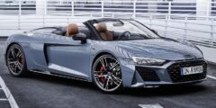 أودي أر8 في10 بيرفومنس أر دبليو دي سبايدر 2022 الجديدة – علامة فارقة في عالم السيارات الرياضية المكشوفة