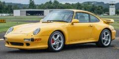 بورش 911 كاريرا 4أس (993) 1997 – تحطم الرقم القياسي العالمي في مزاد علني