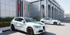 طرازي جوليا كوادريفوليو وستلفيو كوادريفوليو من ألفاروميو ينضمّان الى اسطول سيارات شرطة دبي