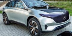 مرسيدس بنز أي كيو إي أس يو في 2023 الجديدة بالكامل – سيارة الدفع الرباعي الكهربائية الفاخرة من الفئة المتوسطة … قريباً
