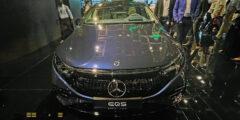 مرسيدس بنز إي كيو أس 2022 – أول سيارة كهربائية فاخرة تعرض للمرة الأولى في المنطقة خلال جيتكس 2021