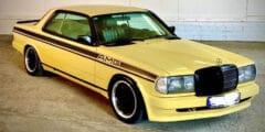 مرسيدس بنز 280 سي إي آي أم جي – أجمل السيارات الكلاسيكية المعدّلة من زندر