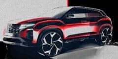 هيونداي تعرض الصور الأولية من كريتا 2022 الجديدة – النسخة الأصغر من توسان الرائعة